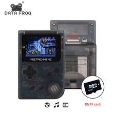 Игровая ретро консоль data frog 32 бит портативная встроенная