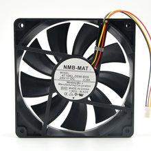 FOR NMB 4710KL-05W-B59 120 * 120 * 25MM 12CM 24V 0.38A Inverter 3-Wire Fan