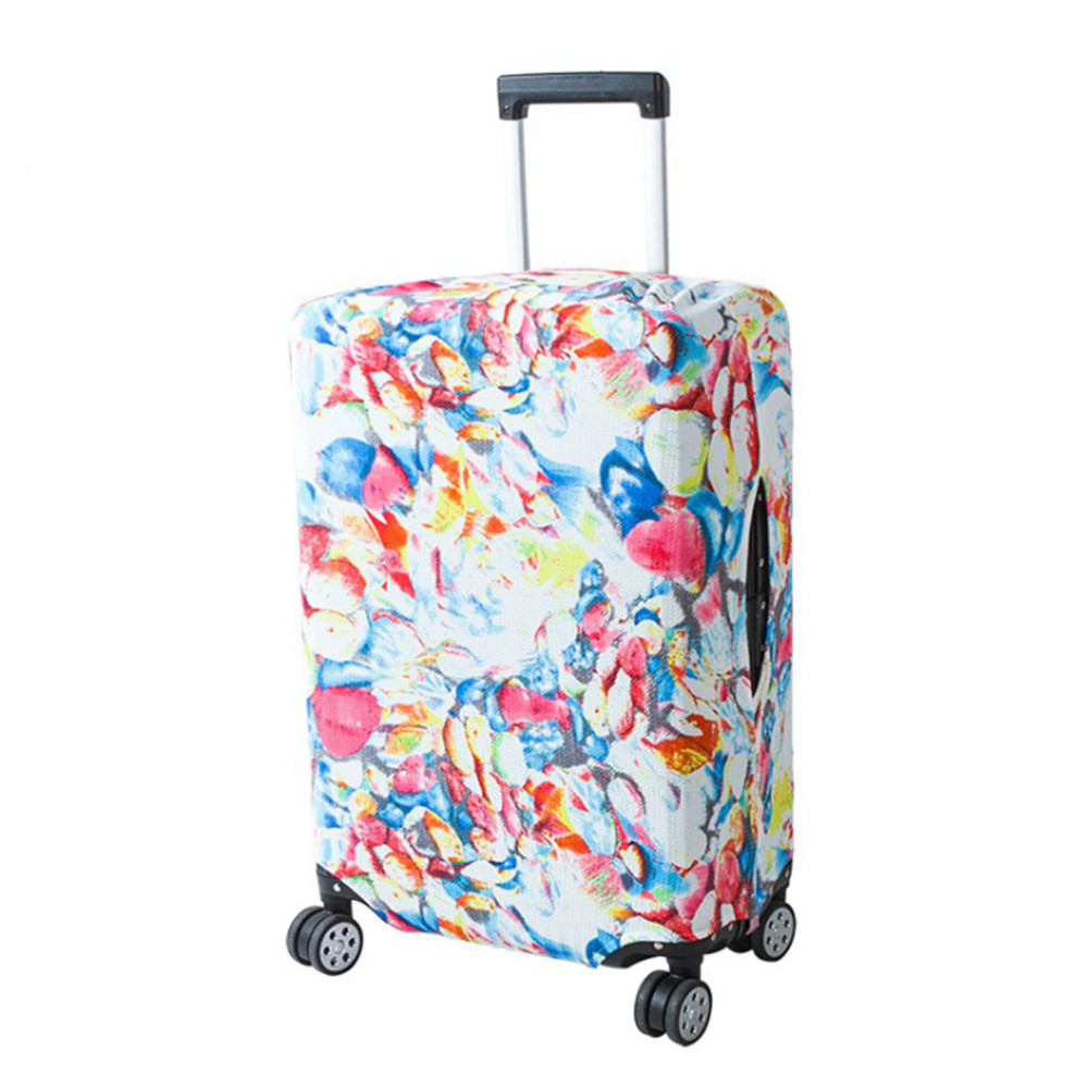 1 Pc Travel Luggage Protective Cover Suitcase Case Travel Accessorie Baggag Elastic Luggage Cover Apply To 18-28 Inch Suitcase