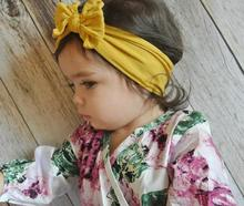 Baby Headbands Turban Knotted Hair Accessories for Newborn Toddler Children Headwear