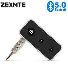Adaptateur sans fil Bluetooth 5.0, récepteur Jack 3.5mm, transmetteur récepteur de casque d'écoute, mains libres, pour voiture, Audio, musique Aux