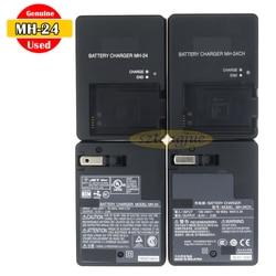 Usado Genuine Carregador para D3100 MH-24 D3200 D3400 D5100 D5300 D5500 D5600 P7000 P7100 P7700 P7800 Df EN-EL14a EN-EL14