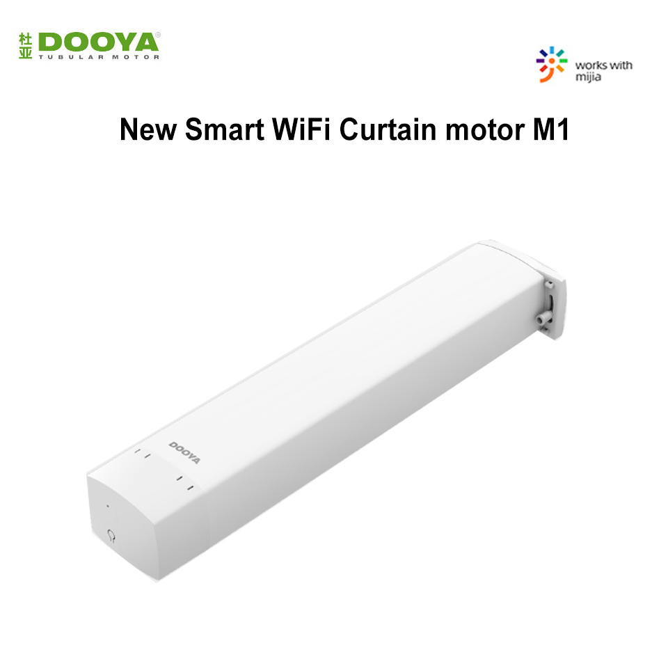 Dooya Smart Curtain Motor M1 Intelligent Curtain Mijia APP Control Wireless Timing Electric Curtain Motor For Xiaomi Smart Home