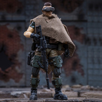 10cm 1/18 Lifelike DIY Assembly Fine Soldier Model with Equipment 3D Russian Federation Caucasus Team Creative Toy for Men OTAR