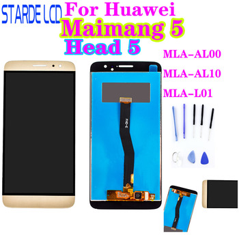 For Huawei Maimang 5 Head 5 LCD Display Panel Touch Screen Digitizer Assembly with Frame MLA-AL00 MLA-AL10 MLA-L01 Nova Plus LCD huawei original nova 2 lcd display touch screen digitizer for huawei nova2 display with frame replacement pic al00 pic tl00