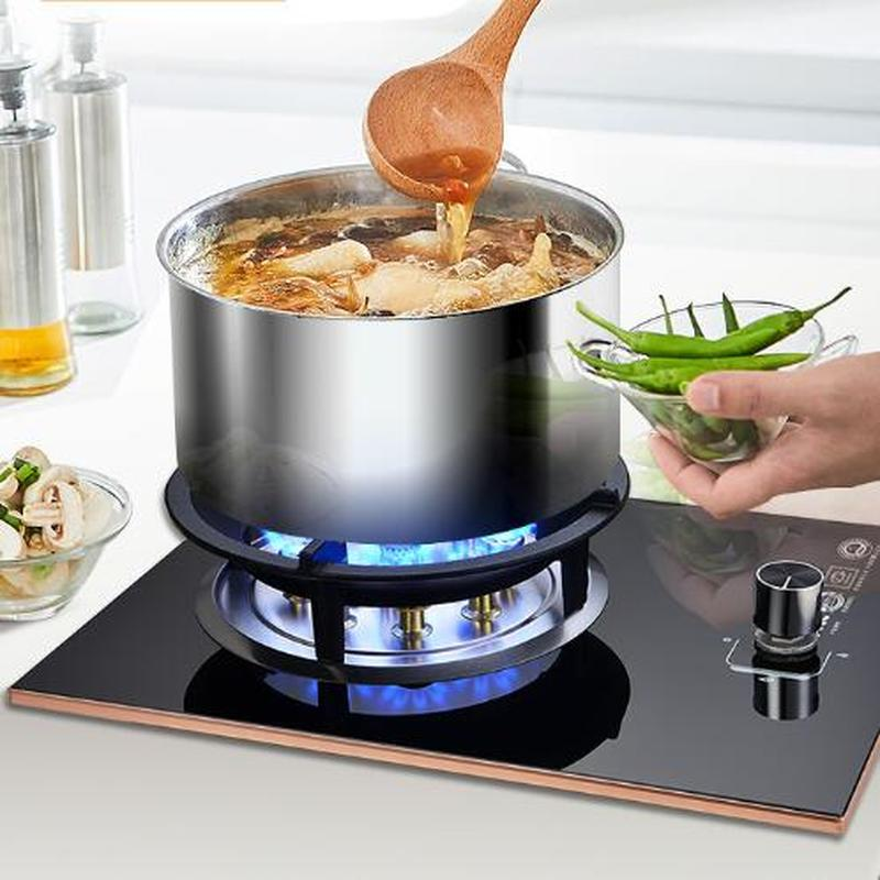 Ma'am Gas Stove Gas Cooker Single Stove Household Liquefaction Natural Gas Stove Embed Benchtop Single The Stove Meng Furnace|Cooktops| |  - title=