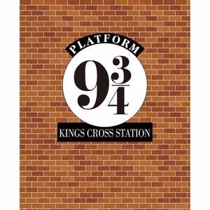 Image 3 - Allenjoy fondos fotográficos para niños, foto de pared de ladrillo, Escuela mágica, estación cruzada de reyes, 9 y 3/4