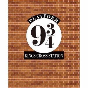 Image 3 - Allenjoy fundos fotográficos parede de tijolos photophone escola mágica 9 e 3/4 reis cruz estação plataforma crianças pano de fundo