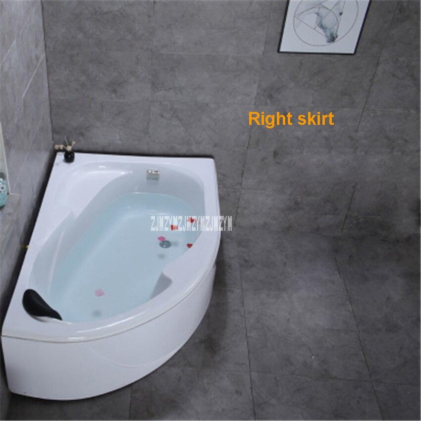 Msb3330 tamanho pequeno ventilador-em forma de banheira casa independente tipo adulto acrílico banheira moderna parede canto banheira 1.2 metros-1
