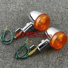 racing motocross flashing part motorbike lamp amber indicator for honda CB400SS CL400 motorcycle turn signal light moto flasher запчасти для мотоциклов honda cl400 cb400ss w400 w650 800