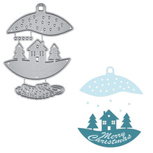 Eastshape House Bell Metal Cutting Dies Merry Christmas DIY Etched Craft Paper Card Making Scrapbooking Embossing New 2019