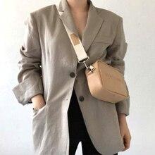 Women Designer PU Leather Handbags Ladies Shoulder Messenger Bags Letter Flap Simple Fashion Females Crossbody Bags