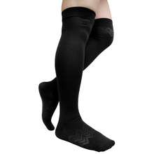 Over Knee Mens Long Socks Cotton Breathable Sexy Stocking Male Hose Formal Suit Socks for Male Black men sexy long socks stocking black cotton over knee gentlemen formal socks hose male dress suits high quality socks