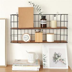 2 warstwy uchwyt na ścianę prostokątne latająca półka ściany regał mocowania półka kuchenna do przechowywania