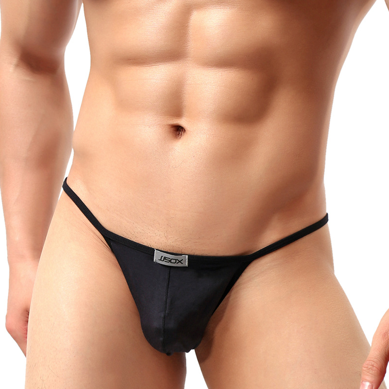 Sexy Men Briefs Mini Underwear Soft Modal Men's Panties U Convex Crotch Underpants Gay Men Bikini Brief 6 Colors