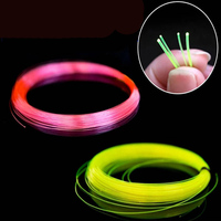 1.5mm 1.0mm 0.75mm 0.5mm Optic Fiber Lights Plastic Led Cable Fluorescence Flex Nano Optical Fibre for Gun Bow Sight Lighting