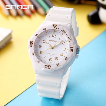 Wrist Watch Women Quartz Small Watches Fashion White Clock Ulzzang Watch Japan Movt Colorful Ladies Star Sport Waterproof Casual himouto umaru chan japan anime led watch waterproof touch screen women wrist watches comics cartoon christmas gift