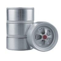 4Pcs RC Wheels Hub for 1/10 RC Crawler Axial SCX10 II 90046 TRX4 D90 1.9 Inch Metal Wheel Modification Upgrade Accessories