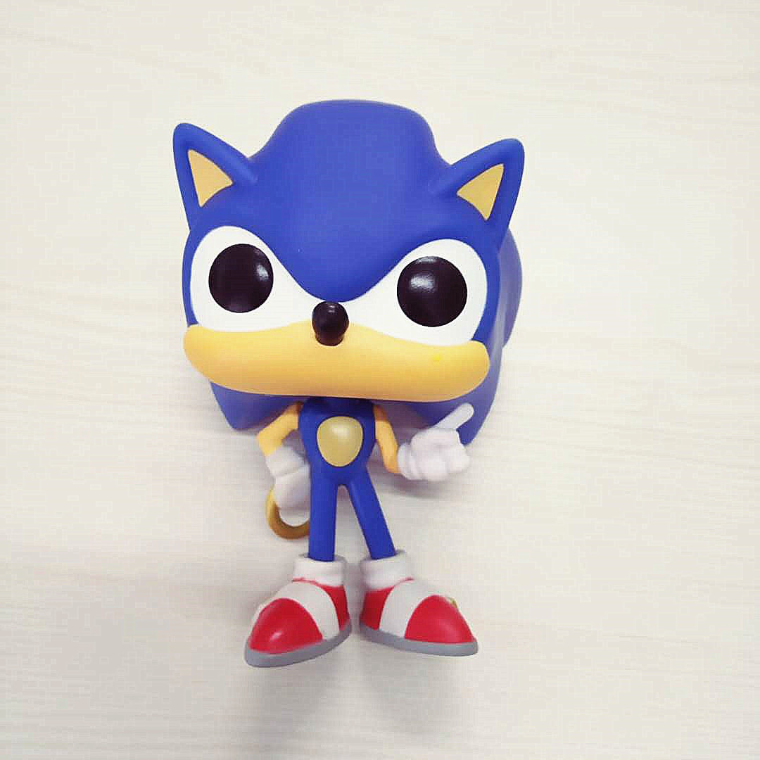 Sonic The Hedgehog With Ring 283 Game Model Character Vinyl Doll Action Figure Collection Gifts Loose No Box Finished Goods Action Toy Figures Aliexpress