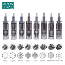 Needle Cartridges for Dr Pen A7 10Pcs Replacement Stainless Steel Electric Micro Needles for Skin Care Machine Accessories