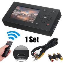 Tapes Converter Camcorder VCR VHS Digital To USB DVD for Us-Plug DVR Audio-Video-Capture-Box