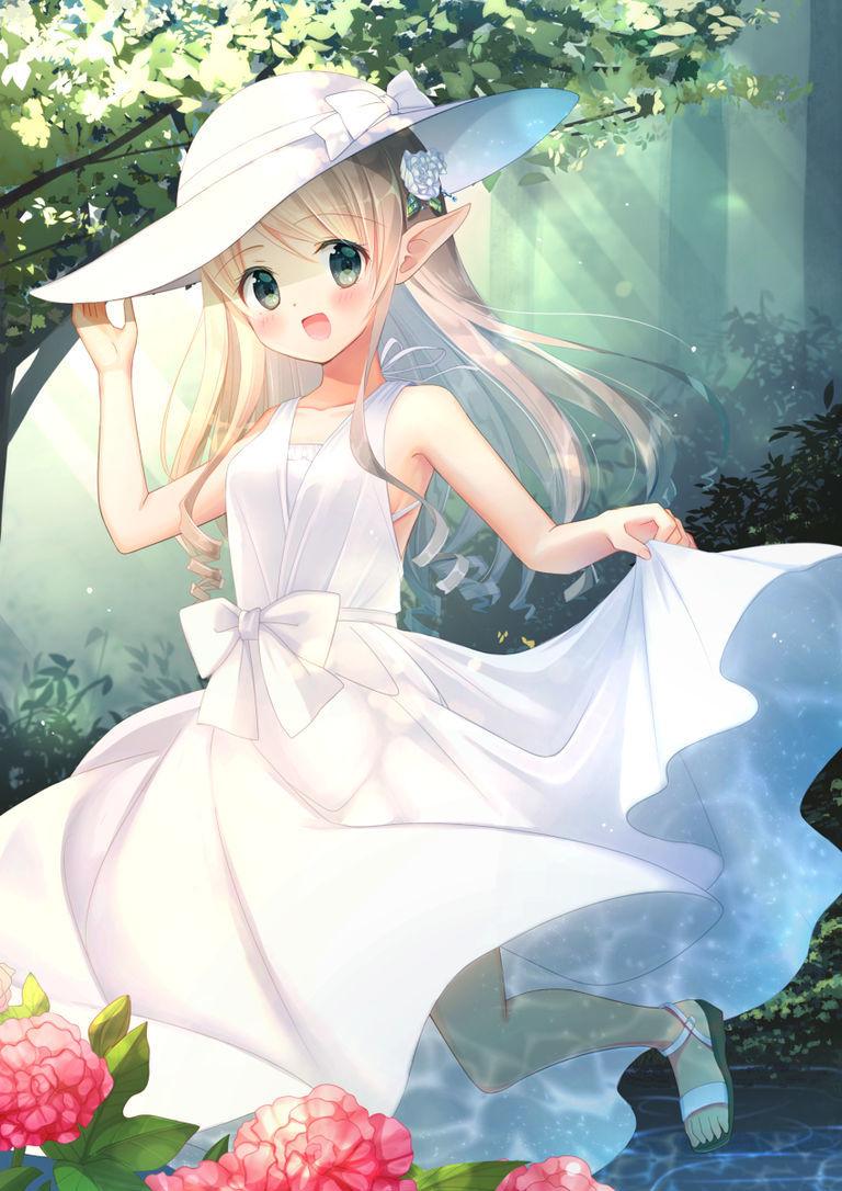 【P站美图】将夏天穿在身上。夏日连衣裙特辑