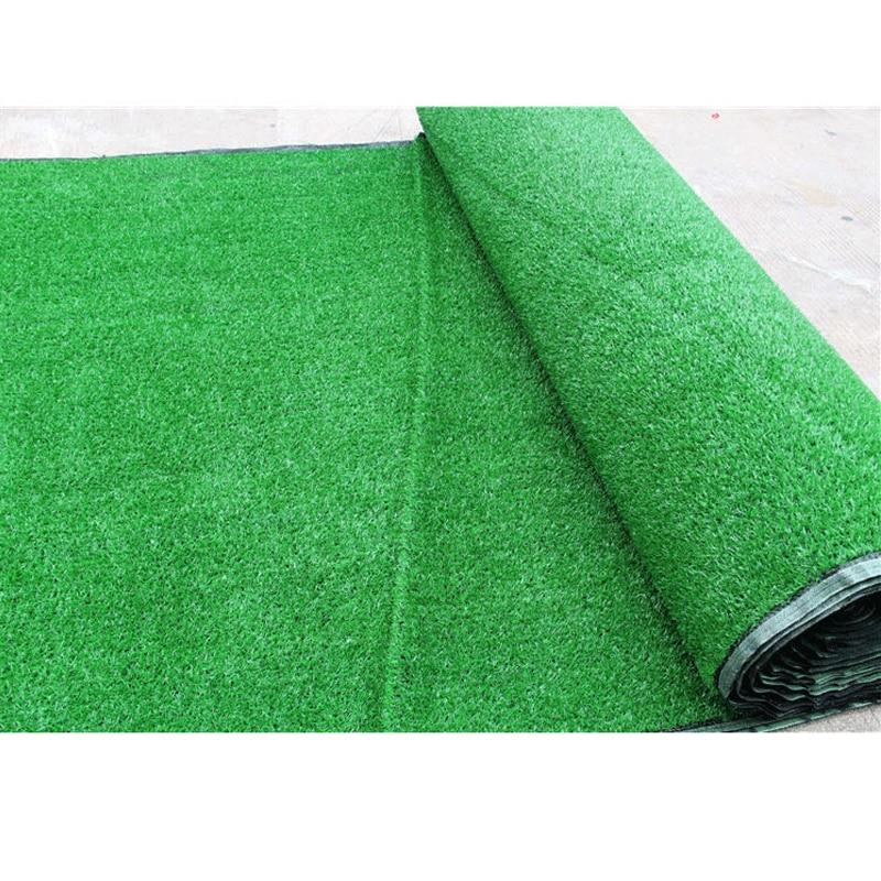 25 / 50m Realistic Carpet Simulation Carpet Green Carpet Artificial Lawn Fake Grass Moss Family Garden Carpet Free Express