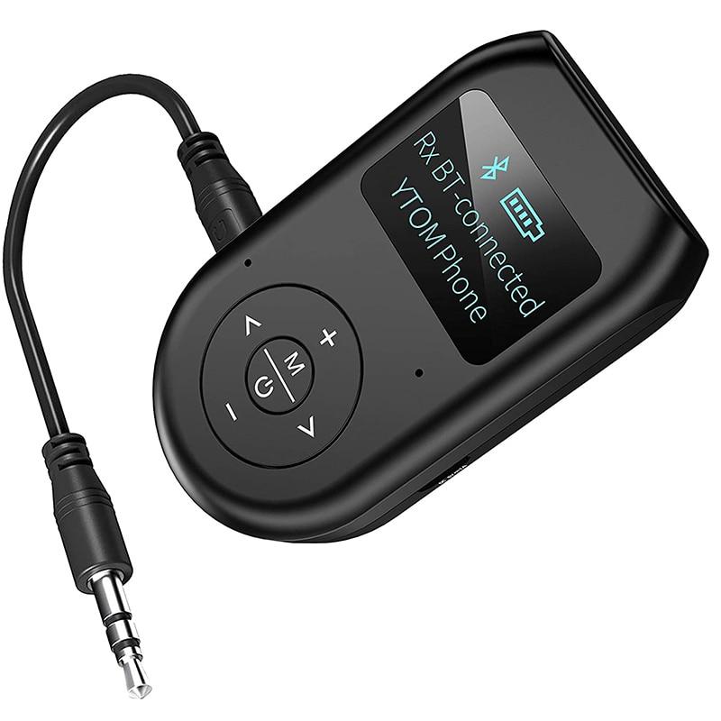 Bluetooth передатчик и приемник, 3 в 1 Беспроводной Bluetooth 5,0 адаптер с Экран дисплея, низкая латентность аудио адаптер для ПК ТВ|Беспроводные адаптеры|   | АлиЭкспресс