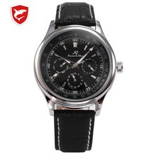 KS Imperial Luxury Automatic Mechanical Date Day Calendar Elegant Gift Leather M