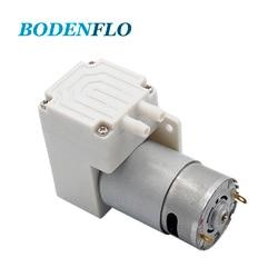 Bodenflo BD-04A Quiet Mini Electric Diaphragm 12V 24V Air Pump 250kpa 13L/Min With Brush Motor