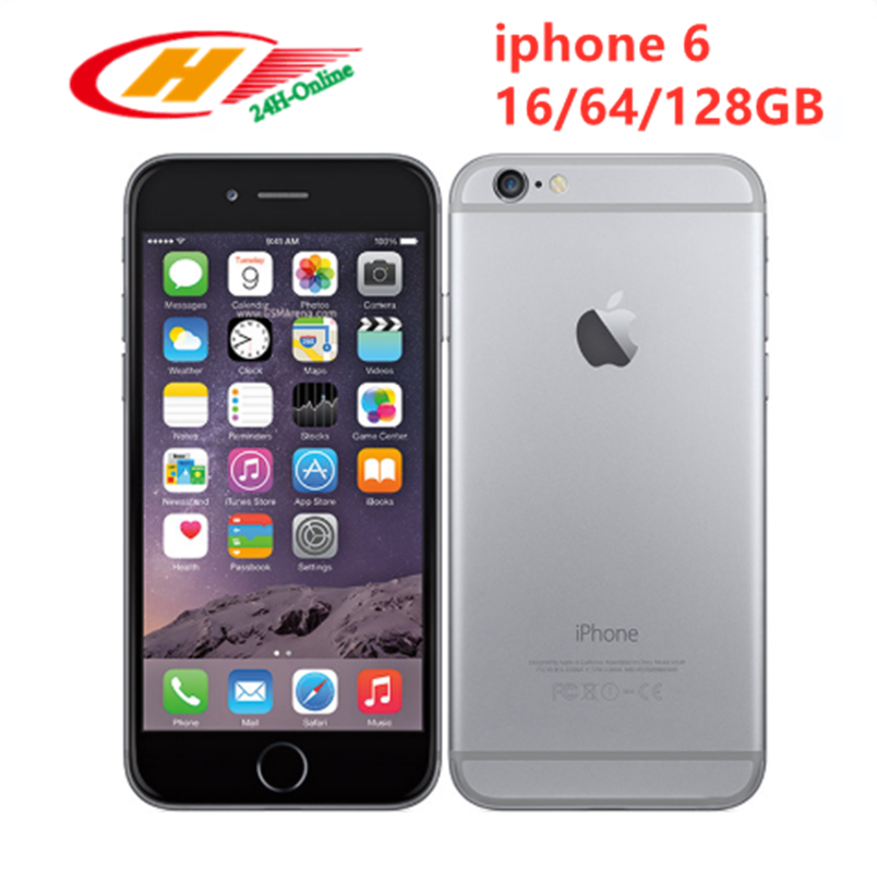 Apple iPhone 6 Dual-Core Fingerprin 16gb LTE NFC 8MP Used Touch ID IOS 1G 4G 1g-Ram Pay title=