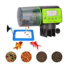 200Ml Smart Automatische Vis Feeder Aquarium Fish Tank Accessoires Auto Voeden Vis Timer Feeder Dispenser Aquarium