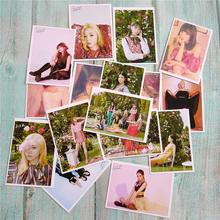 16Pcs/Set KPOP APINK New Album LOOK LOMO Card Fashion Self Made Paper Photo Card Photocards(China)