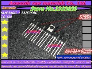 Image 1 - Aoweziic 2020 + 100 ٪ جديد مستورد الأصلي MJE350G MJE340G MJE350G MJE340 MJE350 JE340G JE350G TO 126 أنبوب مطابقة الصوت