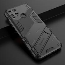 Realme C15 GT Neo 5G Luxury Shockproof Case For Oppo Realme C15 8 7 Pro Punk Cool Back Cover Real Me V15 Q3 C15 Stand Fundas