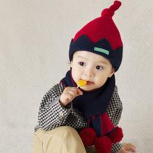 От 1 до 4 лет для мальчиков и девочек вязаная шапка бини с наушниками