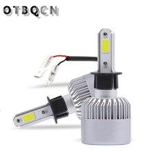 цена на Super Bright H7 LED H3 Car Headlight LED Bulbs Auto Headlamp 6500K 10000LM Light Bulbs  Super Bright  Car Fog Lights Lamp 12V