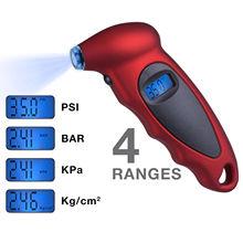 Высокое качество, диагностический цифровой ЖК-дисплей для велосипедов, велосипедов, автомобильных шин, Универсальный Автомобильный цифровой манометр