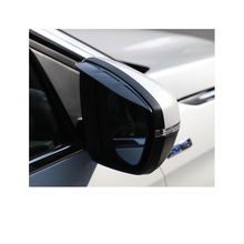 Lsrtw2017 Acrylic Abs Car Rearview Rain Shield Frame for Peugeot 3008 5008 Accessories