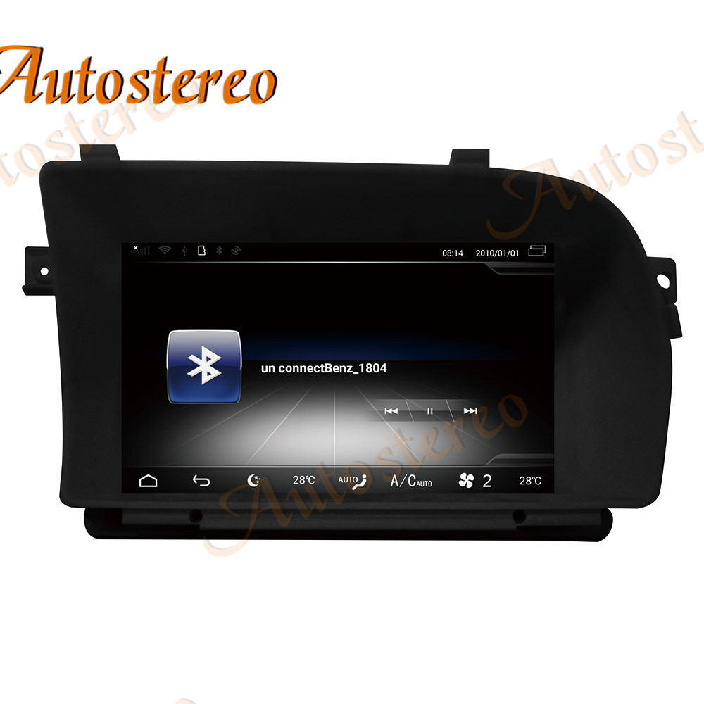 Android 9 8 Core Car No DVD Player GPS Map Navigation For Mercedes Benz W221 W216 S Class Stereo Head Unit Multimedia Player DSP image