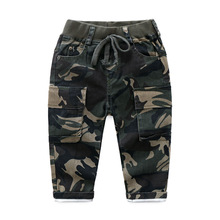 2019 New Cool Pants for Boy Camouflage Sports Leggings Boys Trousers Autumn Teenage Active Clothing