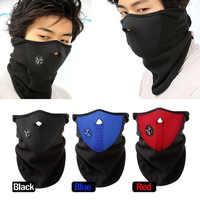 Cycing Winter Warme Fleece Halbe Gesicht Maske Abdeckung Ski Winddicht Hals Schutz Schal Headwear Neopren Masken Gesicht Haube Schutz Maske