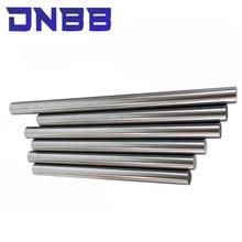 2pcs linear shaft 3d printer parts 8mm linear shaft chrome plated rod shaft CNC parts 100-595mm hardened