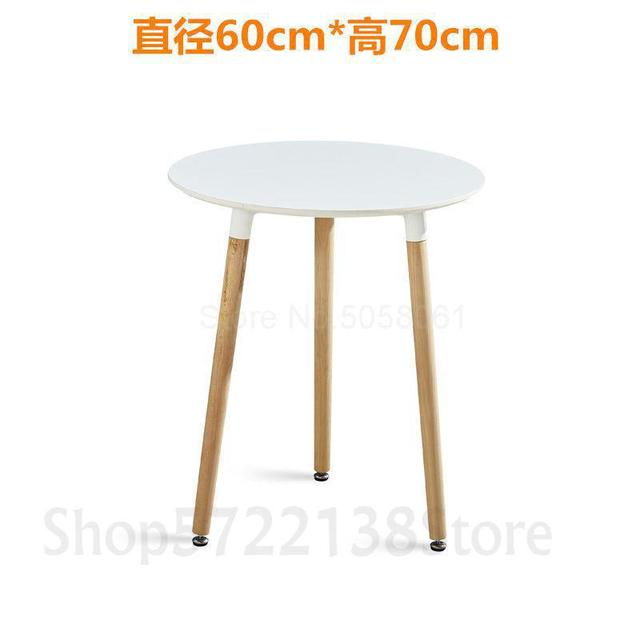 jgjswsjgtxwd Outdoor Small Round Table Negotiation Table Tempered Glass Table Coffee Table Dining Table Folding Square Table