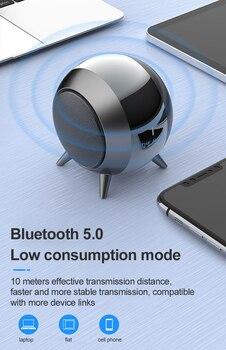 Altavoz Mini Portátil con Bluetooth y Mp3, Subwoofer con recarga de música,...