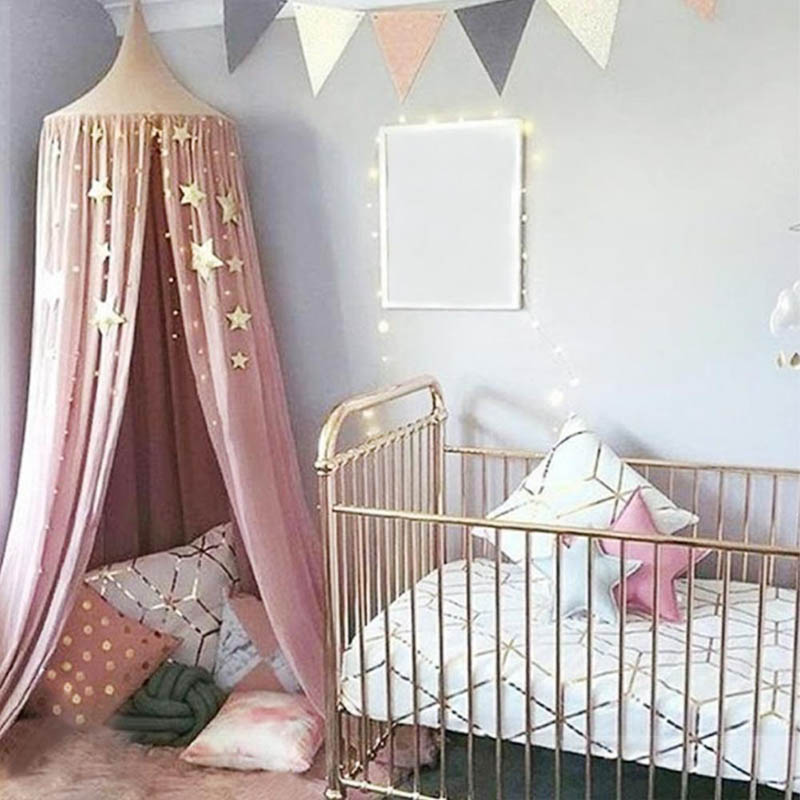 Mosquito-Net-Hanging-Decoration-Gold-Silver-Sparkling-Stars-baby-room-decor-Children-s-Rooms-Walls-Decor (2)