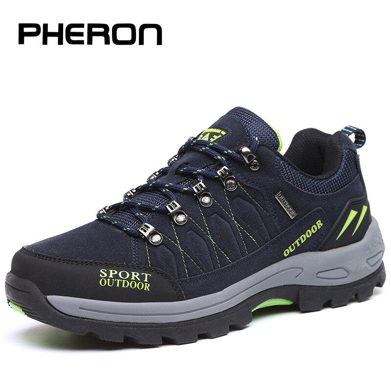 PHERON/осенне зимняя обувь для мужчин размера плюс 47, дышащая модная мужская повседневная обувь, уличные мужские кроссовки, Брендовая обувь на плоской подошве для пары|Повседневная обувь|   | АлиЭкспресс