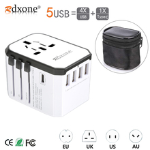 Travel adapter Rdxone Universal Power Adapter Charger worldwide adaptor wall Electric Plugs Sockets Converter for mobile phones