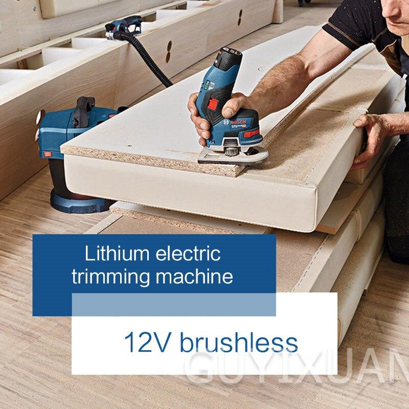 12 В литиевая батарея обрезной станок Электрический деревянный фрезерный долбежный станок Многофункциональный обрезной станок Деревообра... - 6