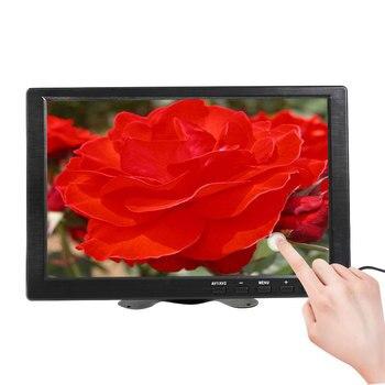 Pantalla táctil de 10,1 pulgadas, monitor portátil, ordenador portátil, ordenador portátil HDMI Raspberry pi, pantalla LCD, pequeño monitor de juego, puerto USB 1366x768